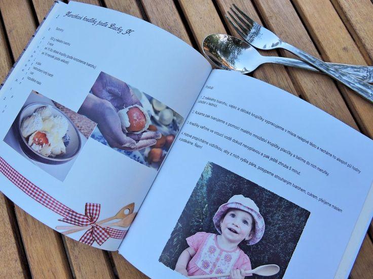 Báječný tip na rodinný dárek pro mladé novomanžele. Vytvořte kuchařku z rodinných receptů!