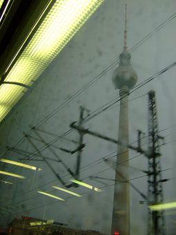 Alexanderplatz out of S-Bahn by Tobias Machhaus