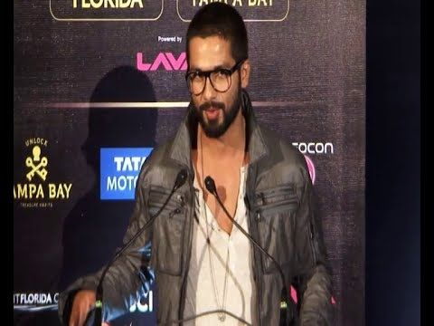 Shahid Kapoor at pre IIFA Awards 2014 press conference.