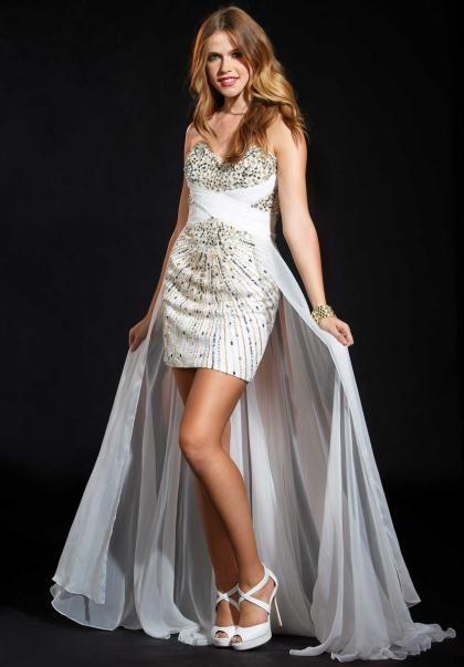 Terani Dress P1541 at Peaches Boutique