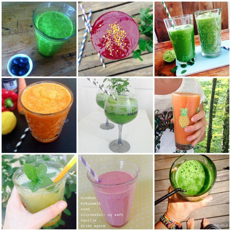 Er du til detox, eller vil du bare have mere grønt ind i kosten? Så find opskrifter på sunde grønne juice, greenies og lækre smoothies her.