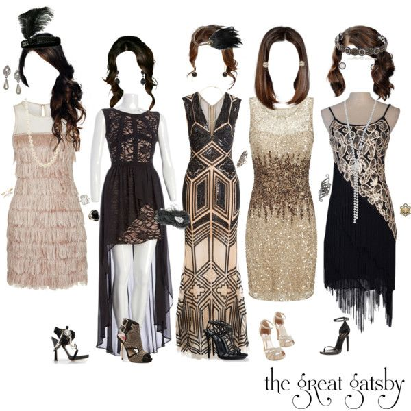 """The Great Gatsby"" Party Dresses by liv4marvel94 on Polyvore featuring Zuhair Murad, Adrianna Papell, Rare London, Yves Saint Laurent, Dsquared2, Betsey Johnson, Bling Jewelry, Gaydamak, BCBGeneration and Sabine G."
