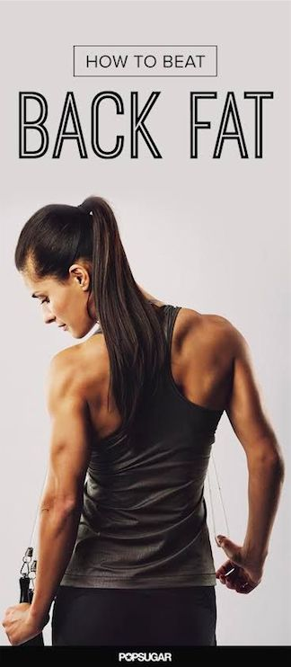 Get rid of your back bulge around the bra area or muffin top with these effective moves. This site actually has really good tips!