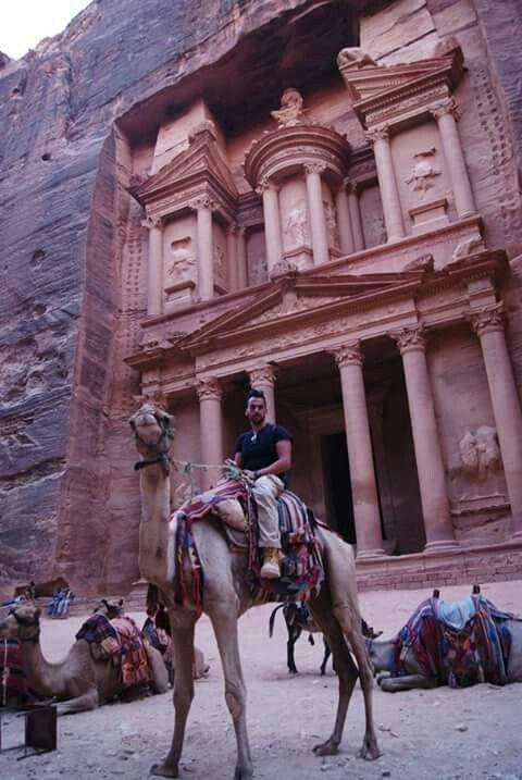 Petra,Jordania.