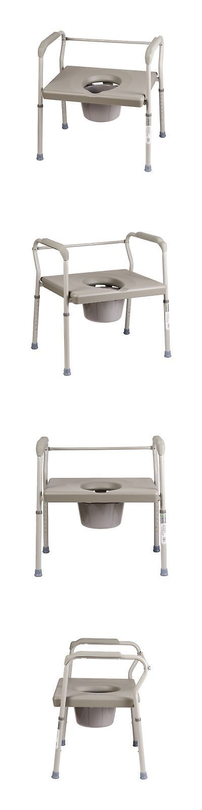 Toilet Frames and Commodes: Duro-Med Commode Chair Heavy-Duty Steel Commode Toilet Chair Toilet Safety Fr... -> BUY IT NOW ONLY: $117.9 on eBay!
