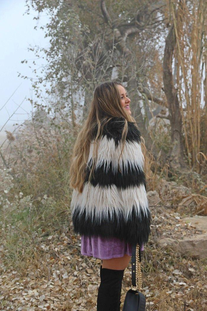 VESTIDO DE TERCIOPELO LILA - Emma Loves Fashion - Tienda online