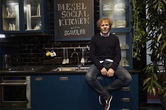 Dal magazine Inspire di OVS la notizia che Renzo Rosso di Diesel firma le cucine Scavolini. Il jeans non è più rilegato nell'armadio!!!