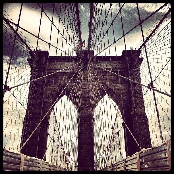Brooklyn Bridge nel New York, NY