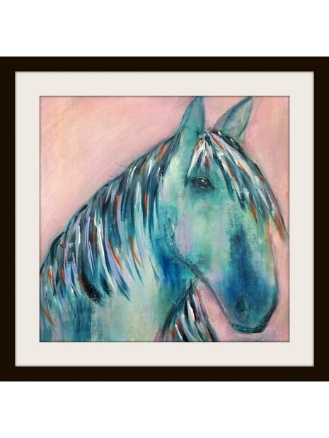 "Grace is an original unframed acrylic painting on 12""x12"" acrylic paper by Marianne H Nielsen"