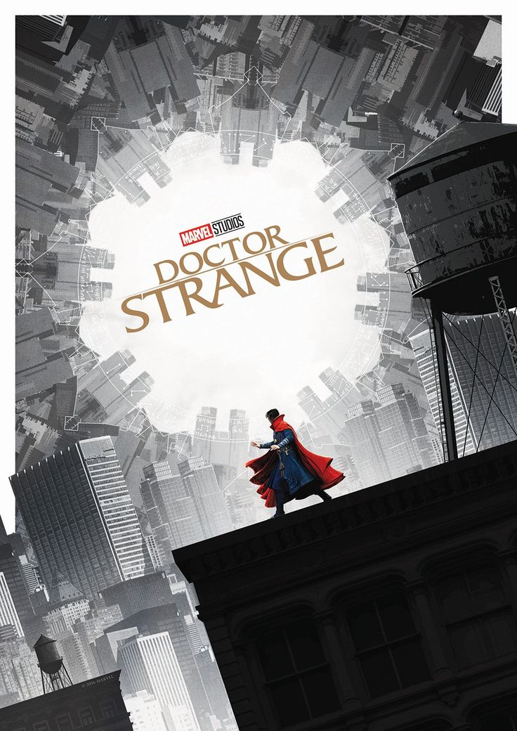 Cool Art: Doctor Strange by Matt Ferguson | Live for Films