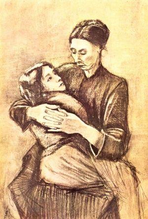 Μανα Και Κορη, Βαν Γκογκ | Καμβάς, αφίσα, κορνίζα, λαδοτυπία, πίνακες ζωγραφικής | Artivity.gr