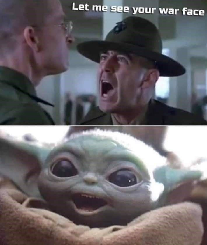 27 Military Memes For Privates And Staff Sergeants Alike Funny Star Wars Memes Yoda Meme Yoda Funny