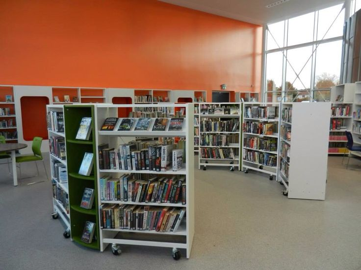 Inside new Billingham town centre library