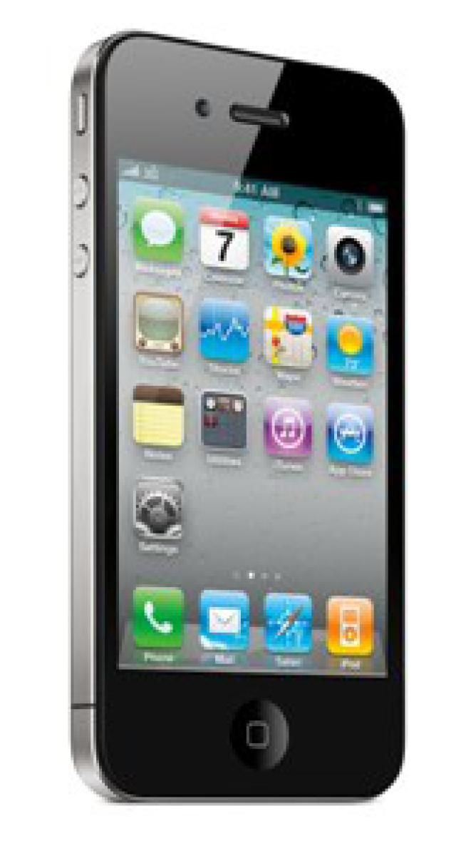 iPhone 4 Review: Slick Design, So-So Call Quality: Apple's new iPhone 4.