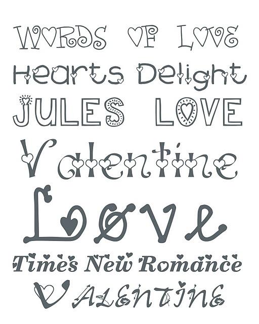 Valentine Fonts 2   Alderberry Hill ~~ Free Fonts W/ Links}