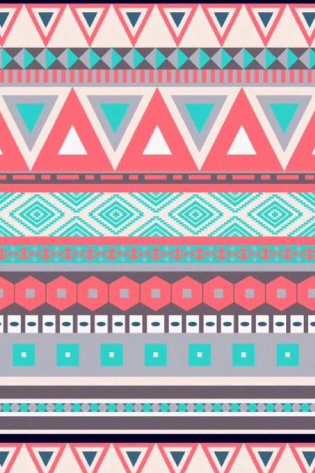 Pink tribal patterns tumblr