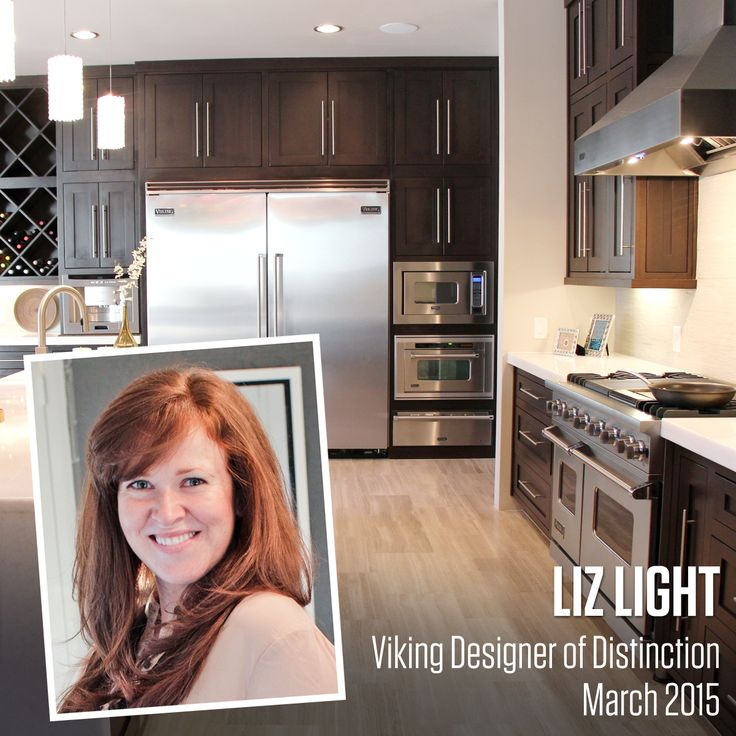 principal designer at liz light interiors llc based in san antonio texas and is the third monthly winner in the 2015 viking kitchen design competition - Kitchen Design Competition