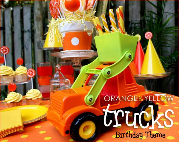 Trucks birthday party