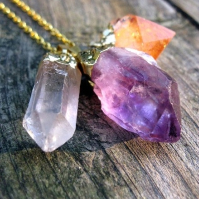 Crystal loveCrystals Jewelry, Fashion, Style, Crystal Necklace, Quartz Crystals, Jewels, Accessories, Stones, Crystals Necklaces