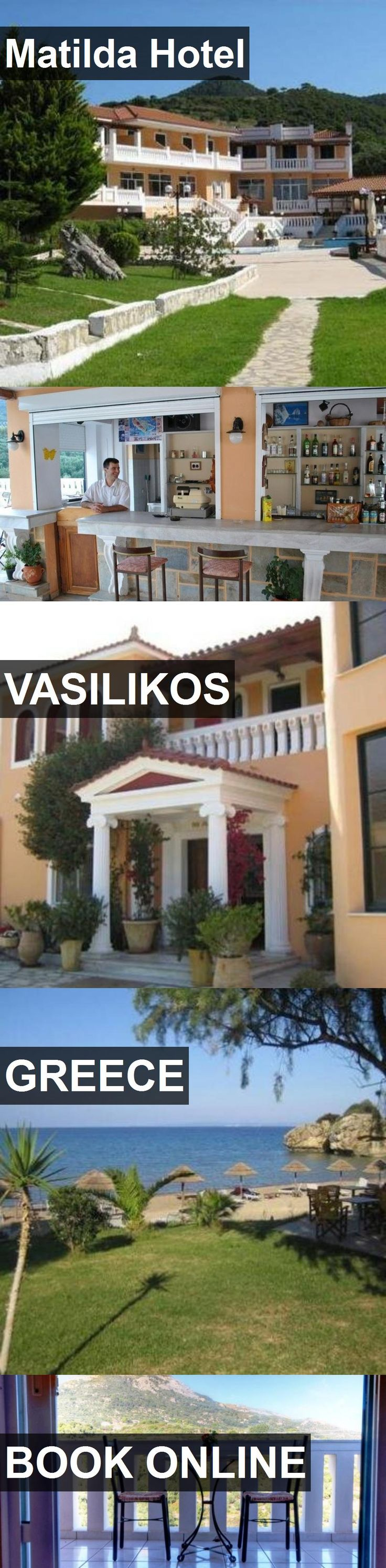 Matilda Hotel in Vasilikos, Greece. For more information, photos, reviews and best prices please follow the link. #Greece #Vasilikos #travel #vacation #hotel