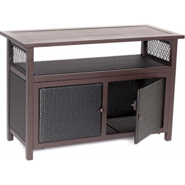 Hanover Outdoor HAN-Consoletbl Outdoor Console Table - Brown