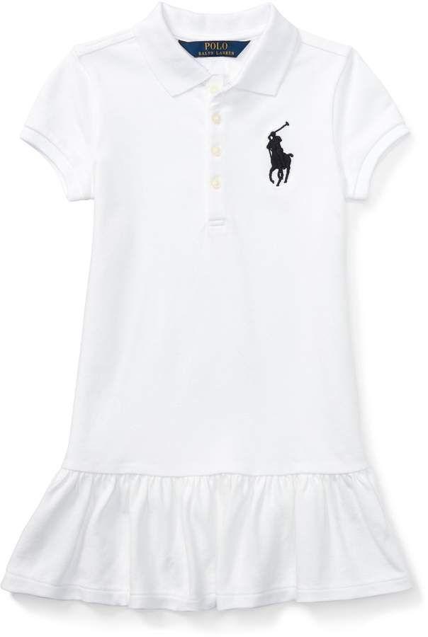 a9957e0ff6 Big Pony Mesh Polo Dress #embroidered#Big#Signature | fashion style ...