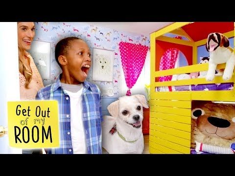 Puppy Lover Gets Dream Bedroom Makeover Get Out Of My Room