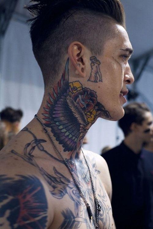 Cool Tattoo Model James Quaintance