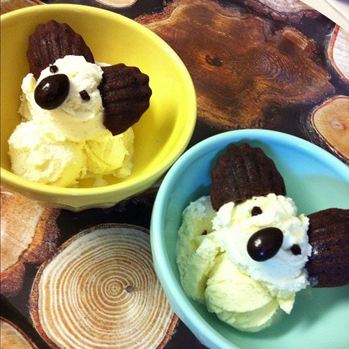 Koala ice creams! Yay!!!!