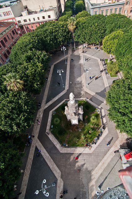 Piazza del Carmine - Cagliari, Sardinia, Italy