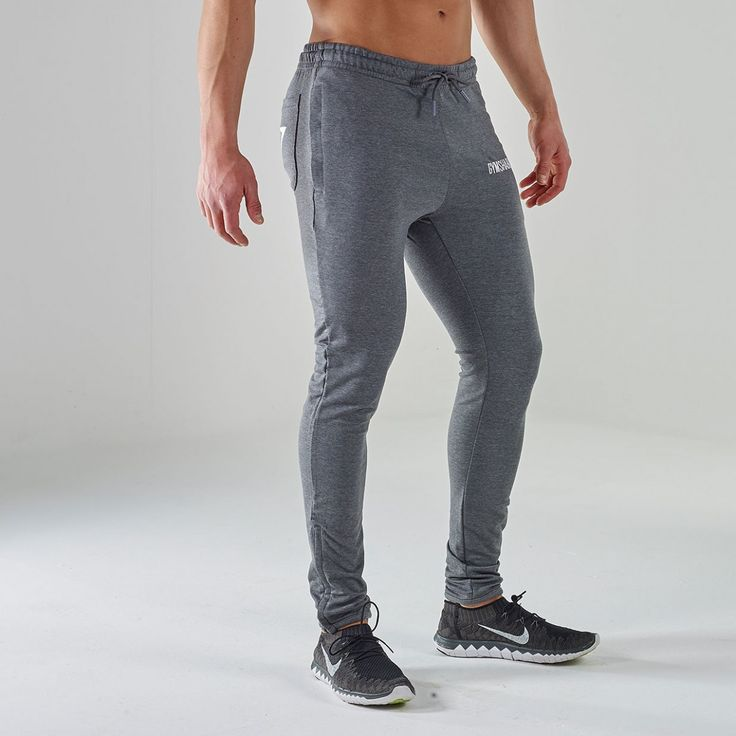 Fit tapered bottoms 20 gym bottoms charcoal