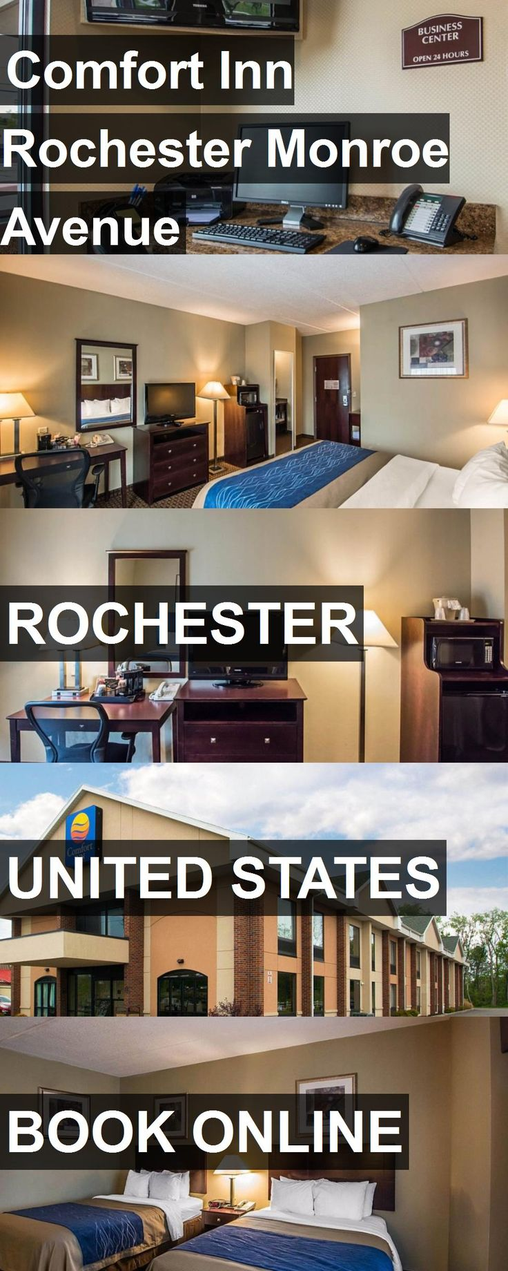 Hotel Comfort Inn Rochester Monroe Avenue in Rochester, United States. For more information, photos, reviews and best prices please follow the link. #UnitedStates #Rochester #travel #vacation #hotel