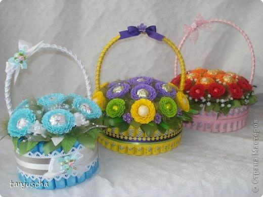 cestas con bombones