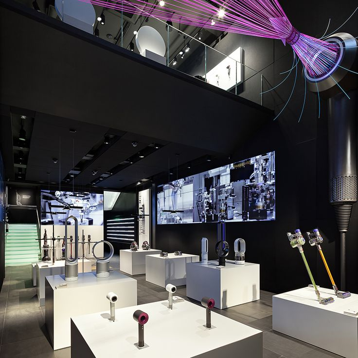 dyson demo concept store opens on london's oxford street