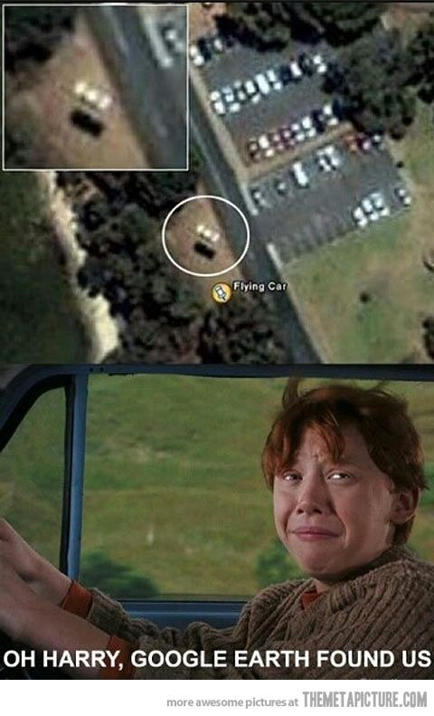 They found us, Harry…