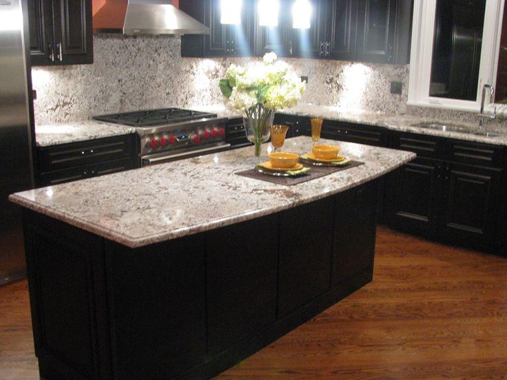 Silestone Quartz Antico Pearl Countertops With Dark