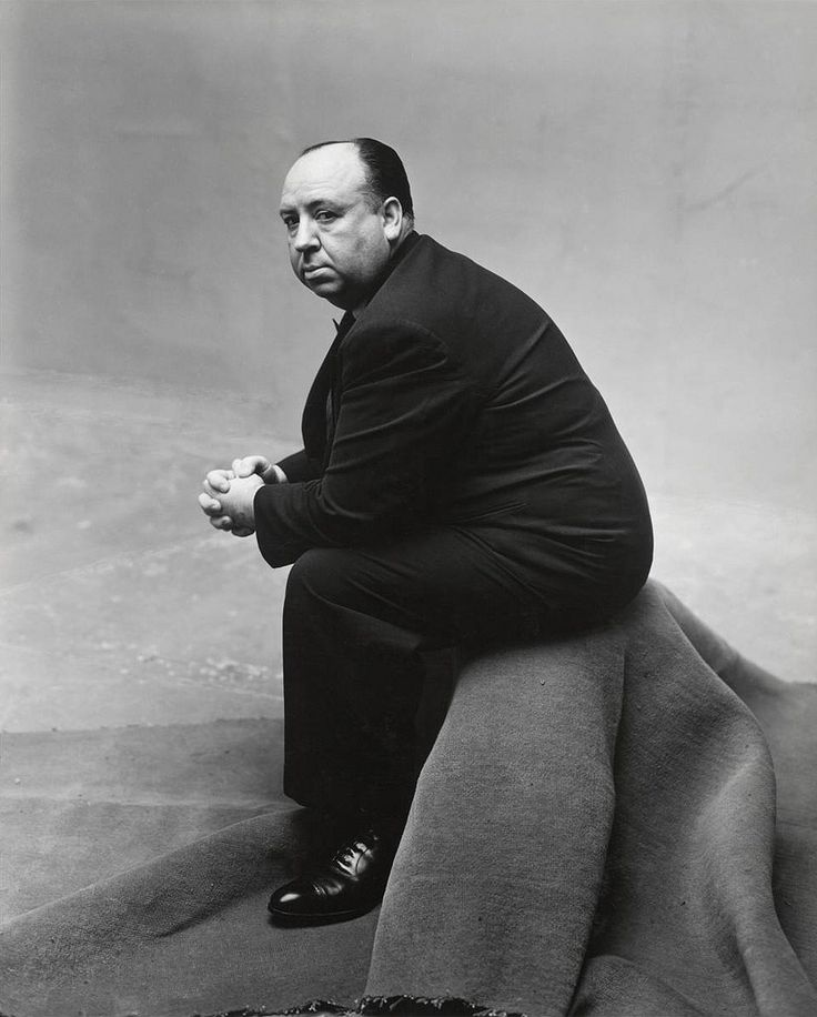 Alfred Hitchcock, photographed by Irving Penn (1947)