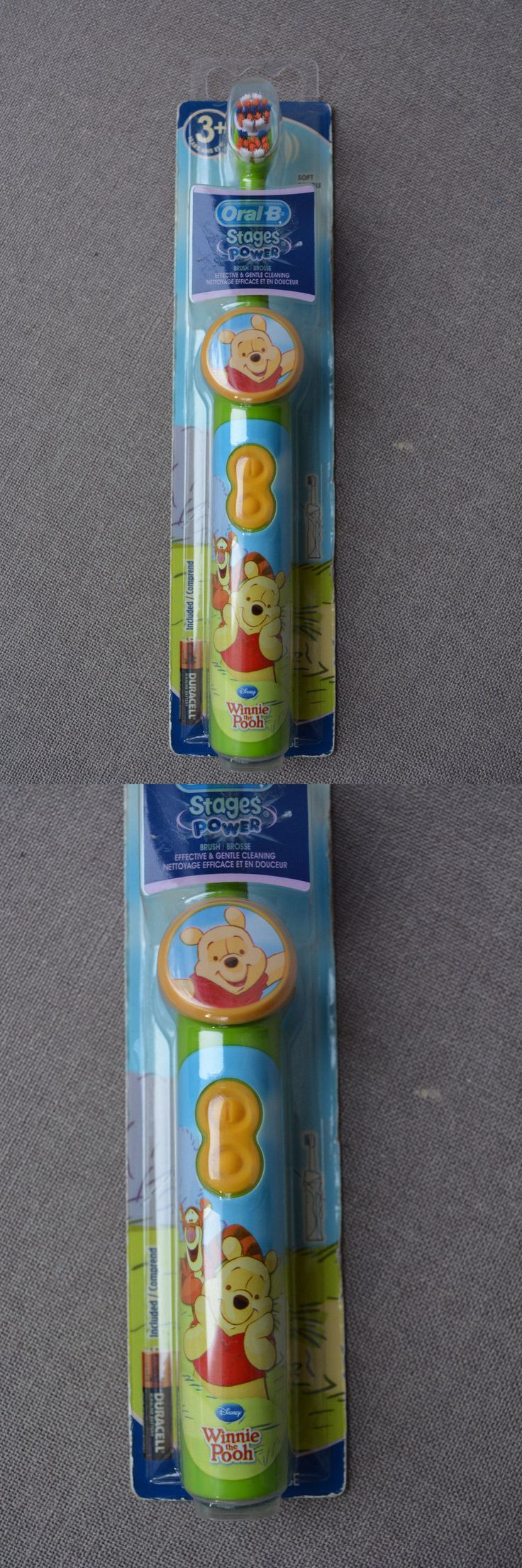 Childrens Oral Care: Oral-B Stages Power Winnie The Pooh Soft Tooth Brush BUY IT NOW ONLY: $34.99