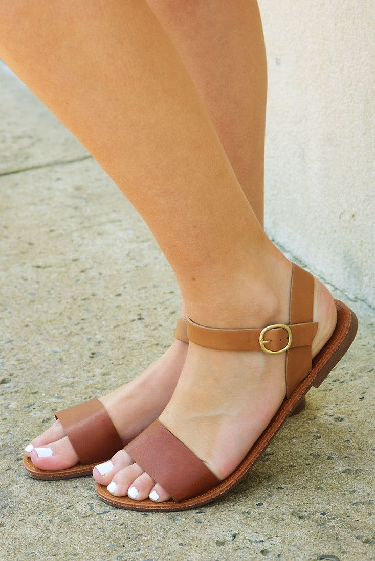 Give Your All Sandals: Brown #shophopes