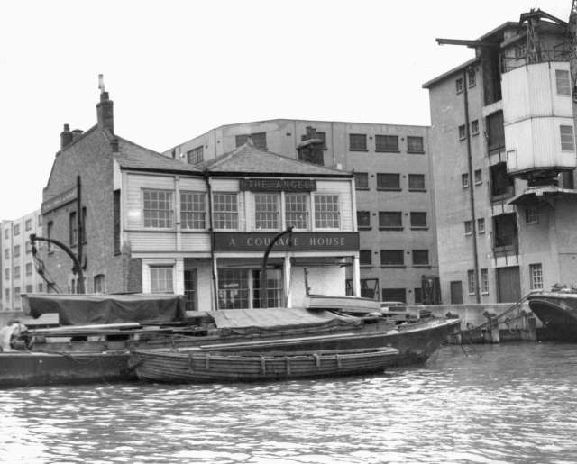The Angel, Bermondsey when the tide is high