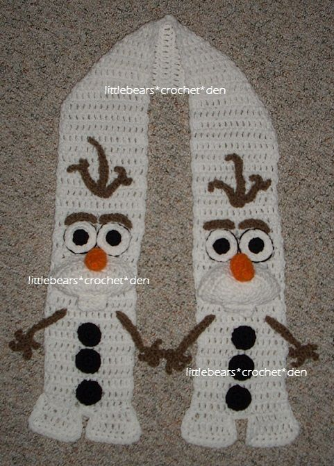 Crochet Free Pattern Olaf : 1000+ ideas about Crochet Olaf on Pinterest Frozen ...