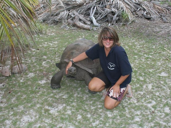 Becky Scott (PhD student, Marine Turtle Research Group)