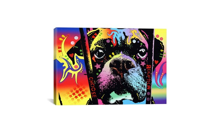 "26""x18"" Dean Russo Animal Art on Canvas Deal of the Day 