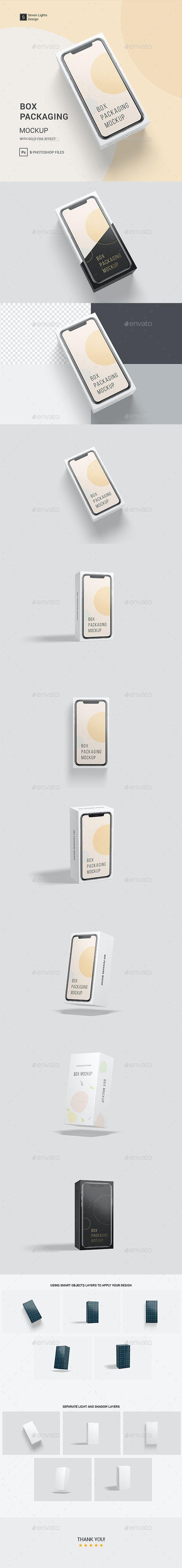 Download Box Packaging Mockup In 2020 Packaging Mockup Mockup Mockup Design
