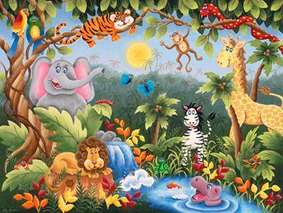 Jungle Fun Mural   Julieart Dreams| Murals Your Way Part 10