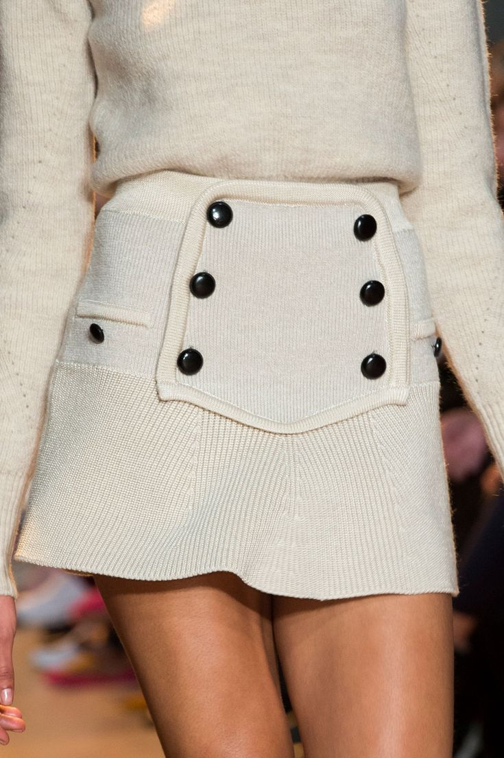 Isabel Marant at Paris Fall 2015 (Details)