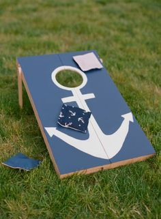 Grad party theme on Pinterest | Anchors, Anchor Cakes and Nautical Ba…