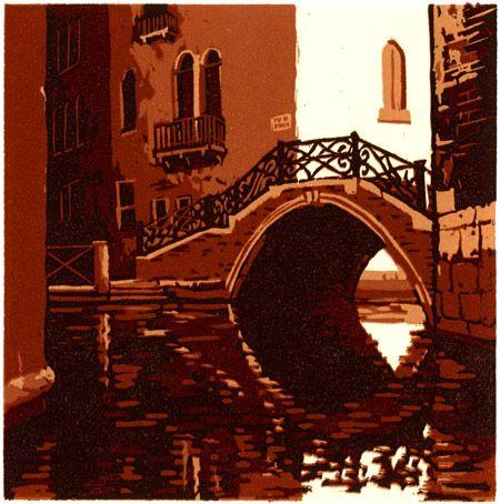 Michael Gage: Ponte Storto, Venezia