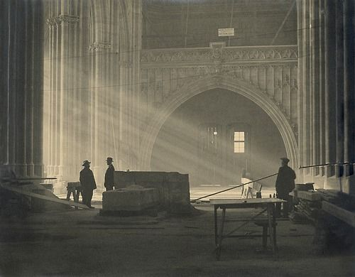 Josef Sudek - Saínt Vítus Cathedral, Prague, 1926-27. Photo: archive of the Moravian Gallery in Brno