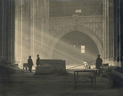 Josef Sudek - Saínt Vítus Cathedral, Prague, 1926-27. Photo: archive of the Moravian Gallery in Brno